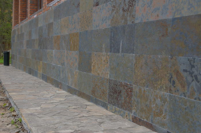 Облицовочные материалы на фасадах зданий